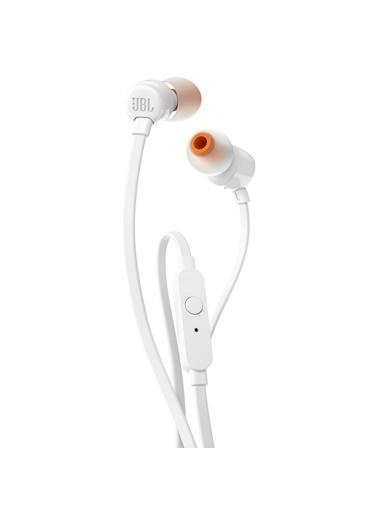 JBL T110 Beyaz Kablolu Kulak İçi Kulaklık Beyaz
